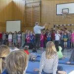 Probe mit dem Ludiwgschor aus Bonn